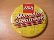 LEGO - Meester Bouwer - BADGE/PIN (Eighties)