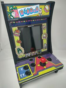 Dig Dug and Dig Dug 2 Arcade1up counter-cade arcade game.  lightly used