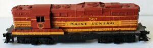 HO Athearn GP-9 Diesel Locomotive (Painted as Maine Central Rd. #567)