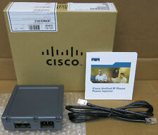 New Cisco CP-PWR-INJ= IP Phone Power Injector For 7900 Series Phone 800-27212-02