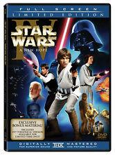 Star Wars A New Hope DVD 2006 2 Disc Set Fullscreen Pan & Scan Han Shoots First