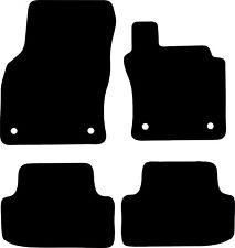 Skoda Octavia Estate (2013 to 2017) Tailored Black 3mm Rubber Car Floor Mats