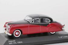 Jaguar MK VII rot/schwarz WhiteBox 1:43 NEU WB131