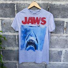 Jaws Shark Original  Movie Poster Graphic T-Shirt Sz S