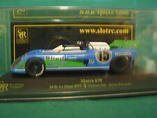 1/32 SLOT CAR SRC 01401 MATRA 670 LEMANS 1972 BLUE/GREEN #15 BNIB 448/1020