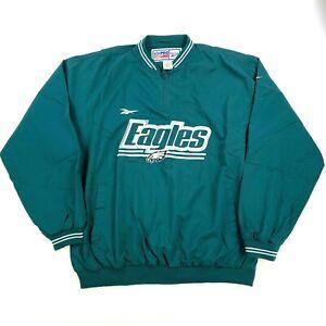 NEW NWOT VTG Philadelphia Eagles 1996 Reebok PROLINE Jacket Coat Windbreaker