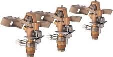 "Rain Bird 25PJDA-C Brass Deluxe Impact Sprinkler 1/2 "" - 3 Pack Free Shipping!"