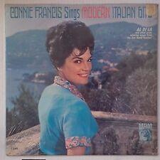 CONNIE FRANCIS: Sings Modern Italian SEALED ORIG MGM MONO vinyl LP scarce 60s