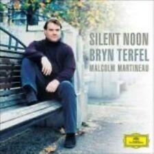 NEW Silent Noon ~ Terfel (Audio CD)