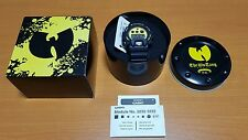 brand new g-shock wu tang clan limited rare
