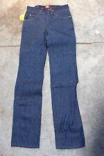 NWT Wrangler Rockabilly Raw Dark Wash Denim Slim Fit Cowboy Cut Jeans Size 28x36