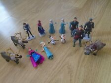 Disney Princess Frozen Bundle of Figures - Polly Pocket, Anna, Elsa, Sven, Olaf