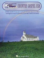 Country Gospel USA Sheet Music E-Z Play Today Book NEW 000100134