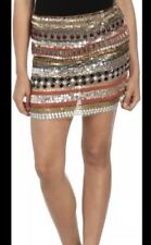 Arden B Sequin Embellished Mini Skirt Women's Size M Medium