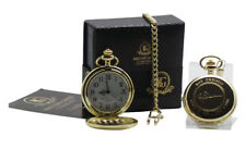 ROY ORBISON Signed Pocket Watch and Gold Engraved Auto Luxury Gift Set Boxed