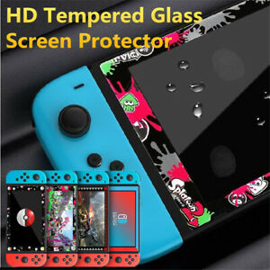 Cute Color Border Premium Tempered Glass Screen Protector for Nintendo Switch