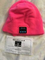 ground/level Running Trekking Hat , Bluetooth warm winter pink SALE! UK