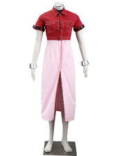 Final Fantasy VII Cosplay Costume Aerith Gainsborough 1st Any Size
