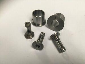 Full Set of 2 Chisel & 3 Auger Bushes For Wadkin DM/V Morticer (as above)