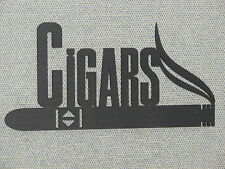 Custom Made Cigar Wall Wood Sign
