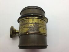 Victorian Brass Petzval Portrait Lens - C Shepherd 97 Farringdon St. London 4016