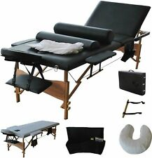 BestMassage FDWXTST3SFBLACK Portable Massage Table Bed with Carry Case
