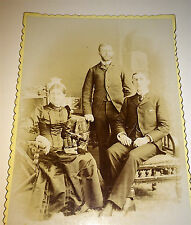 Antique Victorian American Generational Family, Newton, New Jersey Cabinet Photo