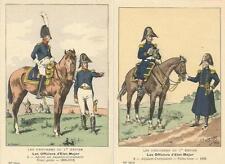 Cdt BUCQUOY - UNIFORMES 1er EMPIRE - Série 62 - Les Officiers d'Etat-Major