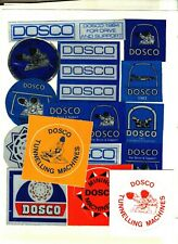 New listing 15 Different Dosco Coal Mining Stickers # 1110