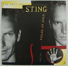 Best of  STING  Fields of Gold  1984-1994  The Police  Music Videos  Laserdisc