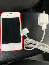 Apple iPhone 4s - 16g- White (VERIZON) With Coach Case And New Charger