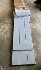 3 pack of Wood shutters  Color -gray