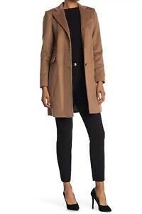 Lauren Ralph Lauren Reefer Felted Wool Blend Coat Women's Size 6 NWT $315