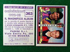 CALCIATORI 1992-93 n 363 BOLOGNA PAZZAGLI TAROZZI , Figurina Sticker Panini NEW