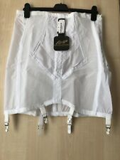 "Rago 1294 6-strap 19-inch extra firm girdle -White 5X/40 ""(101 cm)"