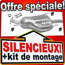 Silencieux Arriere OPEL ZAFIRA A 2.0 DI DTI 82/101 PS 1999-2005 échappement DEF