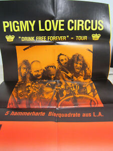 Pigmy Love Circus – Drink Free Forever TOUR-- POSTER  / RARITÄT /  PROMO /