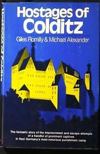 Hostages of Colditz Romilly & Alexander HB/DJ 1973 1st Amer. ed. FINE/VG+