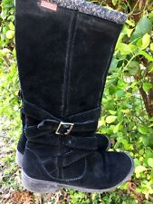 ROCKET DOG Sexy Suede Leather Motorcycle RIDING Cowboy BOOTS Womens Shoes Sz 8.5