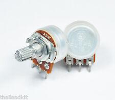 3 pcs Alpha 50KA / A50K / 50K Logarithmic / Audio Pot Potentiometer 15mm 1/4W