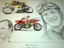Mike Hailwood DUCATI Ncr Honda World Champion homenaje Isle of Man TT ganador