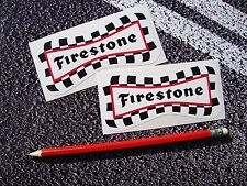 Firestone Stickers tyres F1 Classic Car MOTO GP Superbikes Vintage f1 Racing GT
