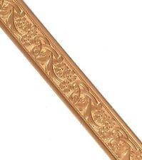 1 Foot 16mm Solid Copper Pattern Wire Floral Design Make Bangle Bracelets