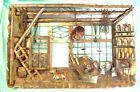 MCM Brutalist 3 D Copper Metal Wall Sculpture WINE ROOM Enesco Hong Kong 1974