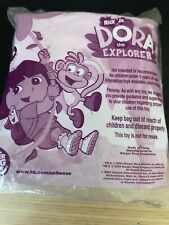 Dora the Explorer Toy Backpack Say It Two Ways Game Burger King *RARE FIND* NEW