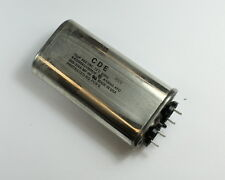 2x 10uF 660VAC Motor Run Capacitor 660V AC 10mfd 660 Volts Pump Unit 10 mfd CDE