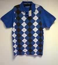 Marco Donati Fine Menswear Herren Poloshirt Blau Gr. S NEU mit Etikett