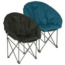 More details for highlander padded folding moon chair camping garden picnic festival