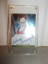 Star Wars Aurra Sing Autographed Michonne Bourriague Authentic Bounty Hunter