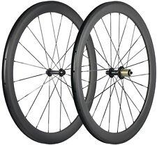 Carbon Laufradsatz 50mm Tiefe 23mm Drahtreifen  Laufräder 700C UD Matt Shimano
